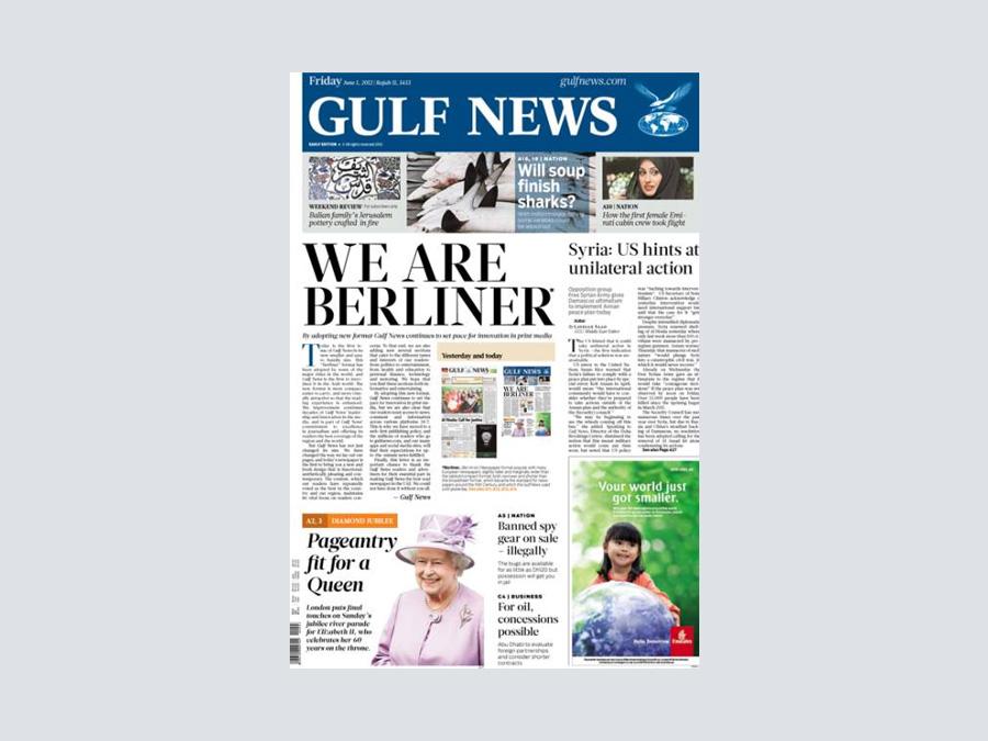 History of gulf news